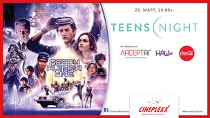 Teen's Night во Cineplexx